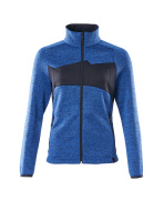 18155-951-91010 Knitted Jumper with zipper - azure blue/dark navy
