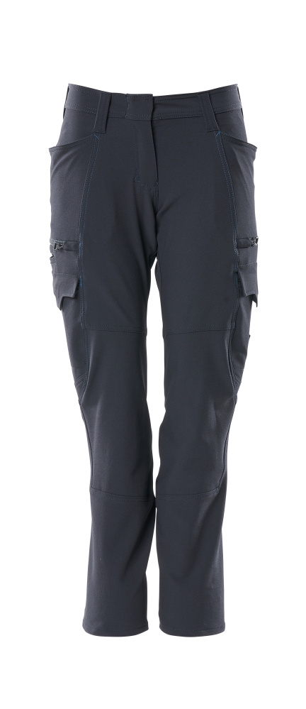 18178-511-010 Pants with thigh pockets - dark navy