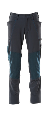 18179-511-010 Pants with kneepad pockets - dark navy