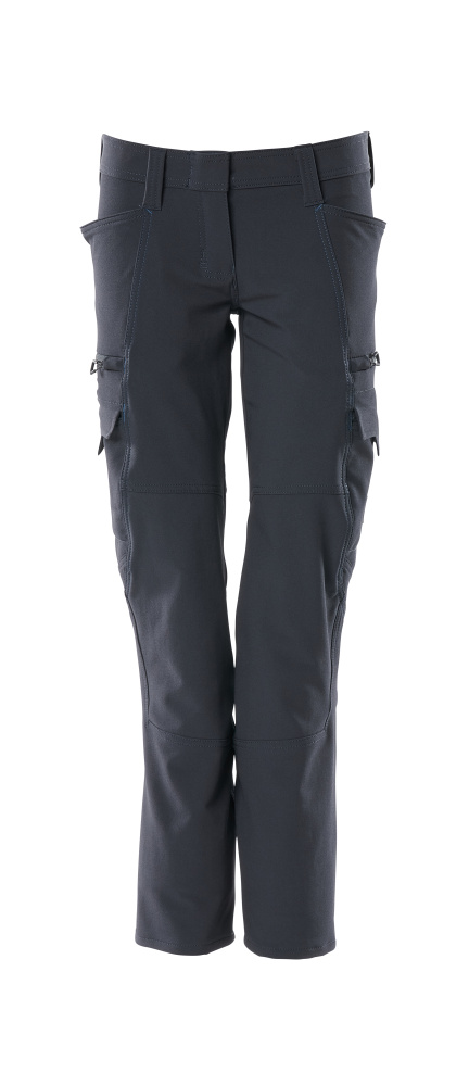 18188-511-010 Pants with thigh pockets - dark navy