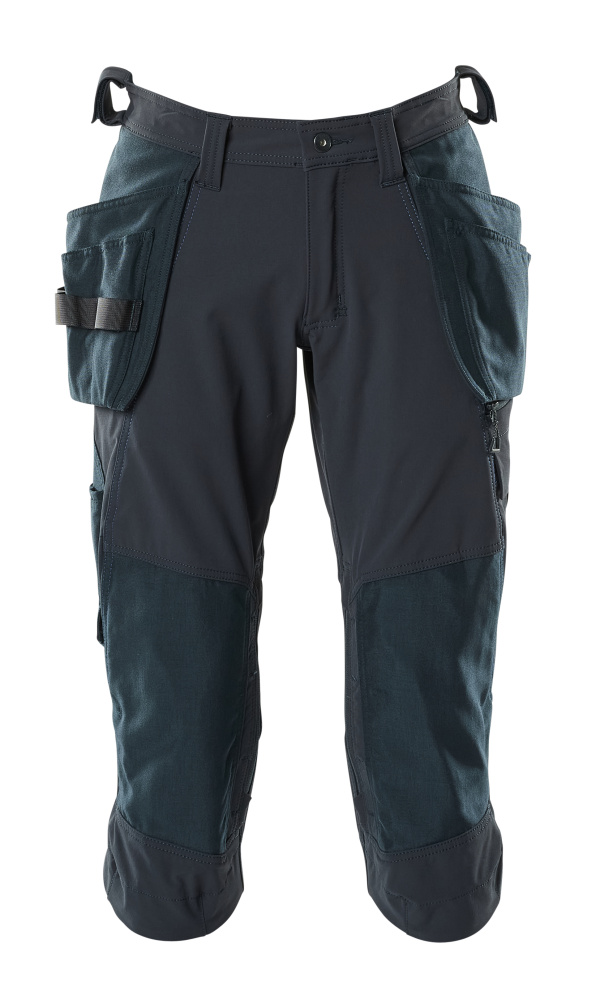 18249-311-010 ¾ Length Pants with kneepad pockets and holster pockets - dark navy