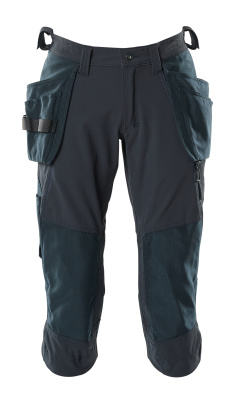 18249-311-010 ¾ Length Pants with kneepad pockets and holster pockets - dark navy