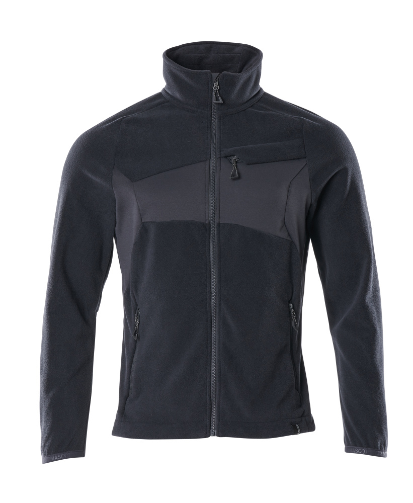 18303-137-010 Fleece Jacket - dark navy