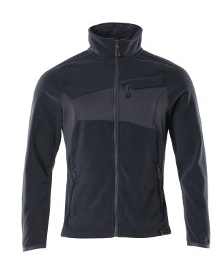 Fleece jacket with anti-pilling