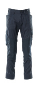 18379-230-010 Pants with kneepad pockets - dark navy