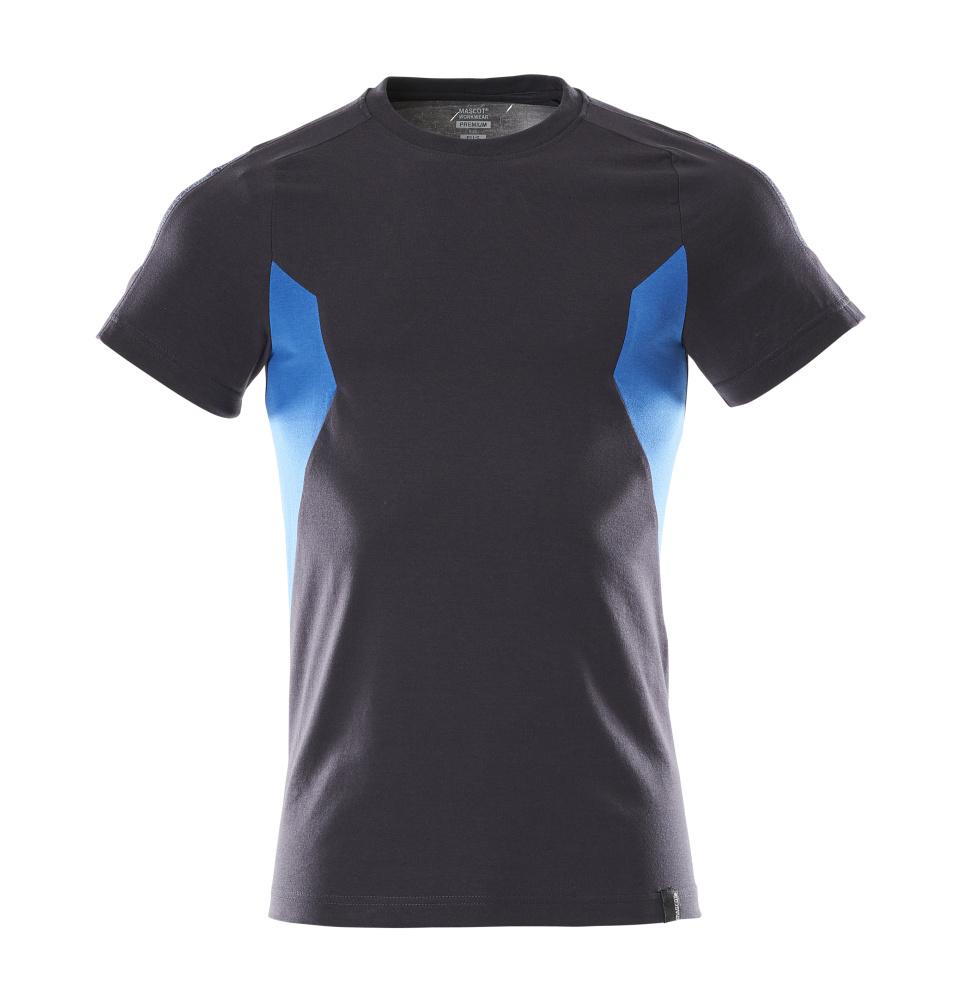 18382-959-01091 T-shirt - dark navy/azure blue