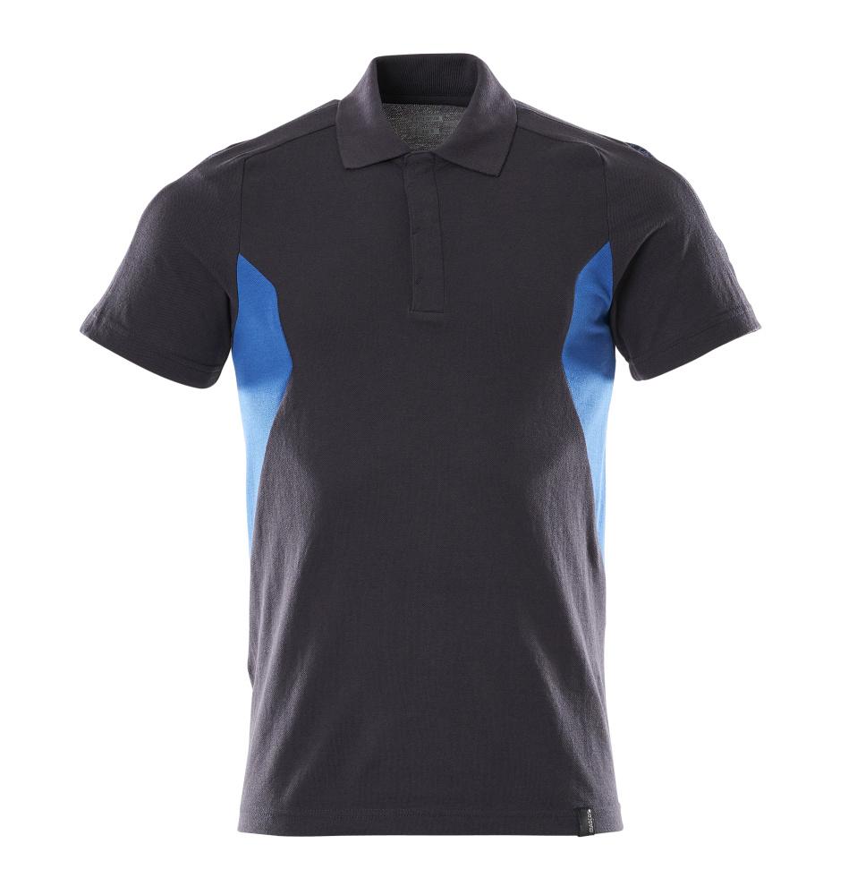 18383-961-01091 Polo shirt - dark navy/azure blue