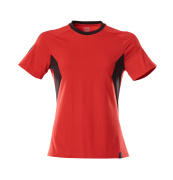 18392-959-20209 T-shirt - traffic red/black