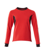 18394-962-20209 Sweatshirt - traffic red/black