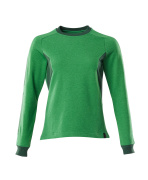18394-962-33303 Sweatshirt - grass green/green