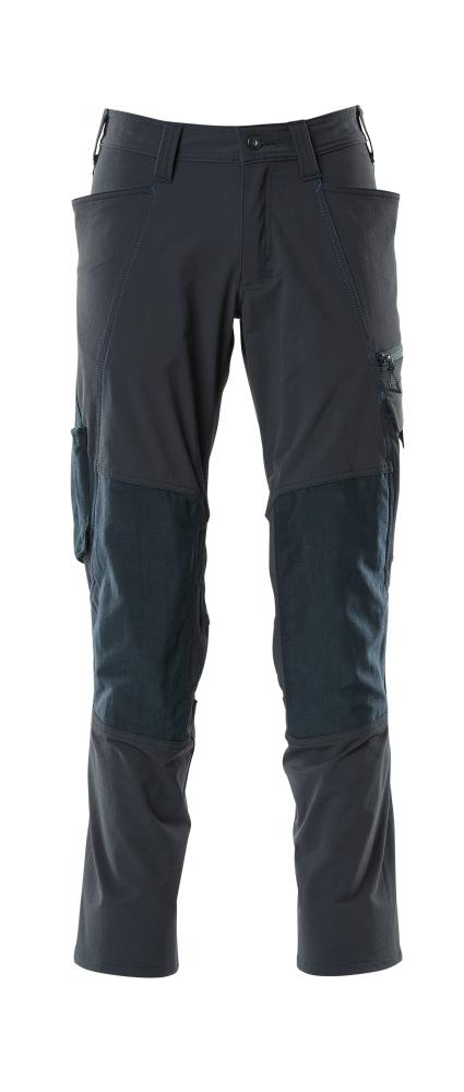 18479-311-010 Pants with kneepad pockets - dark navy