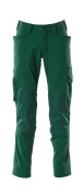 18479-311-03 Pants with kneepad pockets - green