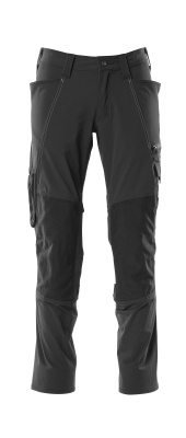 18479-311-010 Pants with kneepad pockets - dark navy