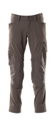 18479-311-18 Pants with kneepad pockets - dark anthracite