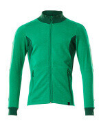 18484-962-33303 Sweatshirt with zipper - grass green/green