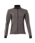 18494-962-1809 Sweatshirt with zipper - dark anthracite/black