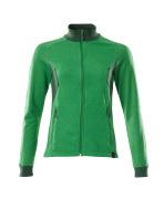 18494-962-01091 Sweatshirt with zipper - dark navy/azure blue