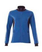 18494-962-91010 Sweatshirt with zipper - azure blue/dark navy