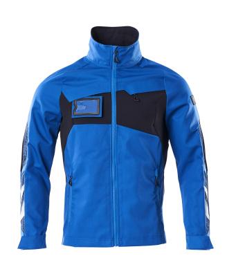 Jacket, stretch inserts