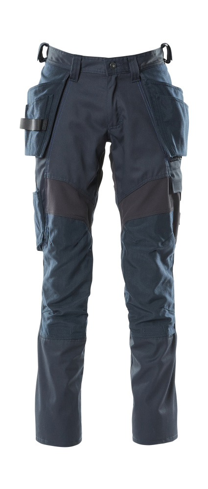 18531-442-010 Pants with holster pockets - dark navy