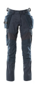 18531-442-010 Pants with kneepad pockets and holster pockets - dark navy