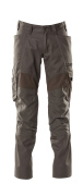 18579-442-18 Pants with kneepad pockets - dark anthracite