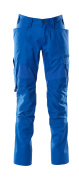 18579-442-91 Pants with kneepad pockets - azure blue
