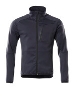 18603-316-010 Fleece Jumper with zipper - dark navy