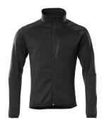 18603-316-09 Fleece Jumper with zipper - black
