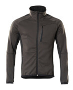 18603-316-1809 Fleece Jumper with zipper - dark anthracite/black