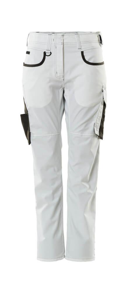 18678-230-0618 Pants - white/dark anthracite