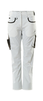 18678-230-0618 Pants - white/dark anthracite