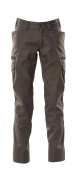 18679-442-18 Pants with thigh pockets - dark anthracite