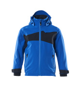 18901-249-91010 Softshell Jacket for children - azure blue/dark navy