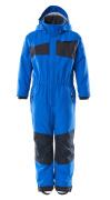 18919-231-91010 Snowsuit for children - azure blue/dark navy