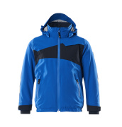 18935-249-91010 Winter Jacket for children - azure blue/dark navy
