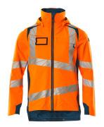19001-449-1444 Outer Shell Jacket - hi-vis orange/dark petroleum