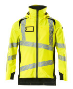 19001-449-1709 Outer Shell Jacket - hi-vis yellow/black
