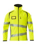 19002-143-1709 Softshell Jacket - hi-vis yellow/black