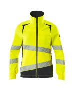 19008-511-17010 Jacket - hi-vis yellow/dark navy