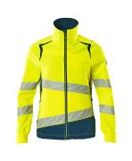 19008-511-1744 Jacket - hi-vis yellow/dark petroleum