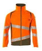 19009-511-1433 Jacket - hi-vis orange/moss green