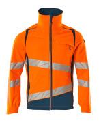 19009-511-1444 Jacket - hi-vis orange/dark petroleum