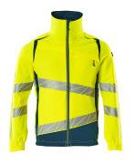 19009-511-1744 Jacket - hi-vis yellow/dark petroleum