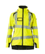 19011-449-1709 Outer Shell Jacket - hi-vis yellow/black