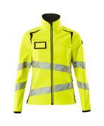19012-143-1709 Softshell Jacket - hi-vis yellow/black