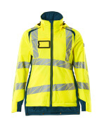 19045-449-1744 Winter Jacket - hi-vis yellow/dark petroleum