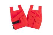 19050-711-222 Holster Pockets - hi-vis red