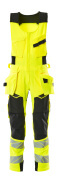 19069-711-1709 Combi suit - hi-vis yellow/black