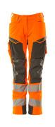 19078-511-1418 Pants with kneepad pockets - hi-vis orange/dark anthracite
